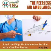 Air Ambulance Service in Kolkata with Skilful Medics Avail by King