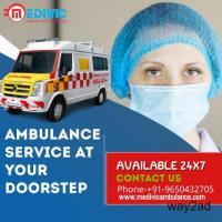 Low Priced Ambulance Service in Camac Street, Kolkata by Medivic