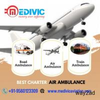 Use the Air Ambulance Service in Cooch Behar by Medivic