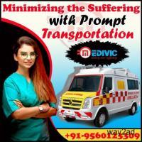 Hire Medivic Ambulance Service in Kasba, Kolkata at the Minimum Fare
