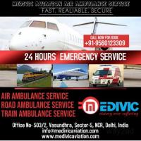 Medivic Aviation Air Ambulance Service in Dehradun