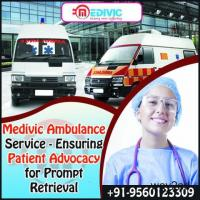 Medivic Ambulance Service in New Town, Kolkata with Professional Team