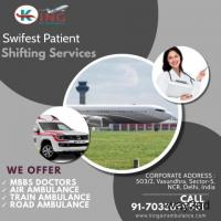 Peerless King Air Ambulance Service in Bhopal with Healthcare Support