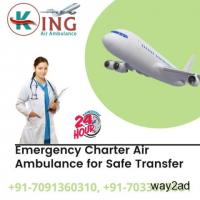King Air Ambulance Service in Nagpur Available for Hasty Shifting
