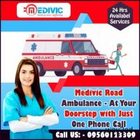 Quick Emergency Ambulance Service in Danapur, Patna by Medivic