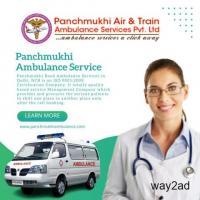 Panchmukhi Ambulance Service in Uttam Nagar, Delhi with NICU setup