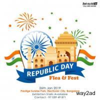 Republic Day Flea & Fest @ Bangalore - BookMyStall
