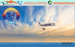 Book Highly ICU Specialized Service by Vedanta Air Ambulance Service in Siliguri