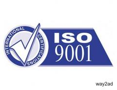 ISO 9001 Certification Services in Ahmedabad