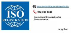 iso registration procedure in Ahmedabad