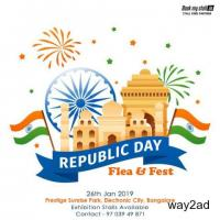 Republic Day Flea & Fest @ Electronic City - BookMyStall