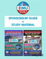 IMUCET Book | DOUBLE PACK( STUDY MATERIAL+SPONSORSHIP GUIDE)