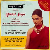 Bridal Dairies - Wedding Lifestyle Exhibition at Surat - BookMyStall