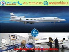Pick Fastest with ICU Air Ambulance Service in Jaipur by Sky
