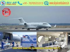 Book Hassle-Free Air Ambulance Service in Bangalore by Sky