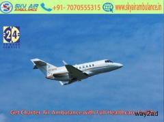 Receive 24/7 Patient Transportation Service in Indore by Sky Air Ambulance
