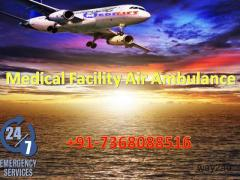 Take ICU Facility Air Ambulance Service in Indore with Doctor