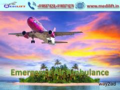 Pick Doctor Facility Air Ambulance Service in Raipur